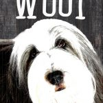 Old English Sheepdog Sign – You Had me at WOOF 5×10 1