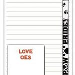 Old English Sheepdog Dog Notepads To Do List Pad Pencil Gift Set 1