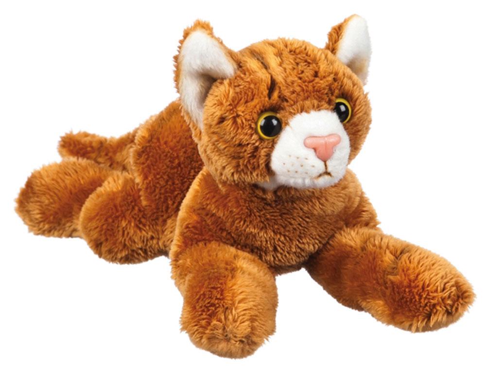 Orange Tabby Cat Stuffed Animal Bean Bag Dog