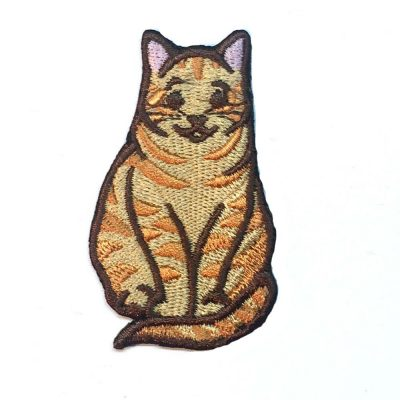 Orange Tabby Cat Patch