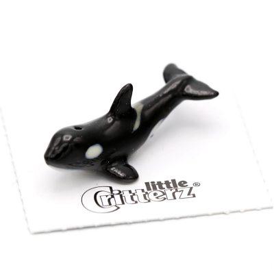 Orca Whale Porcelain Figurine