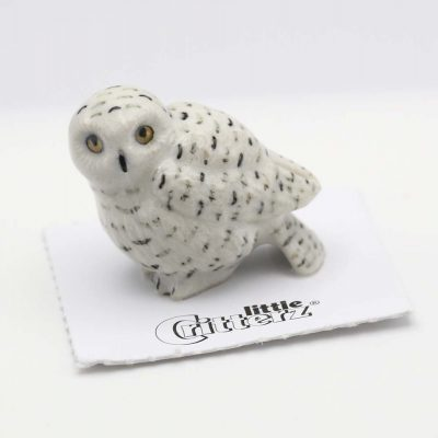 Owl Porcelain Figurine
