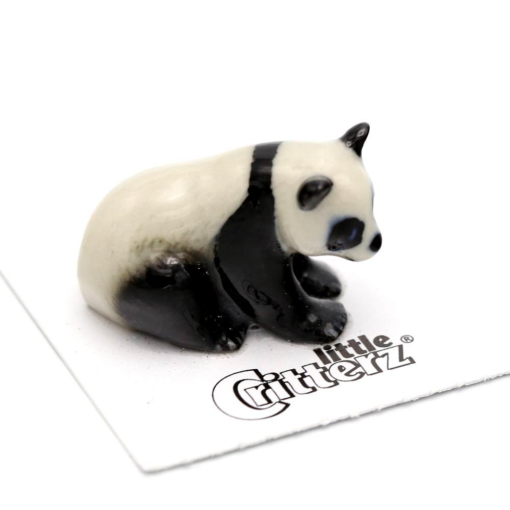 Panda Porcelain Figurine