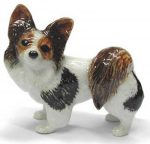 Papillon Hand Painted Porcelain Figurine