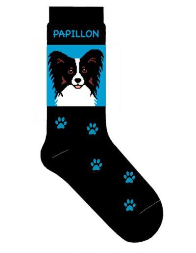 papillon-socks-blue