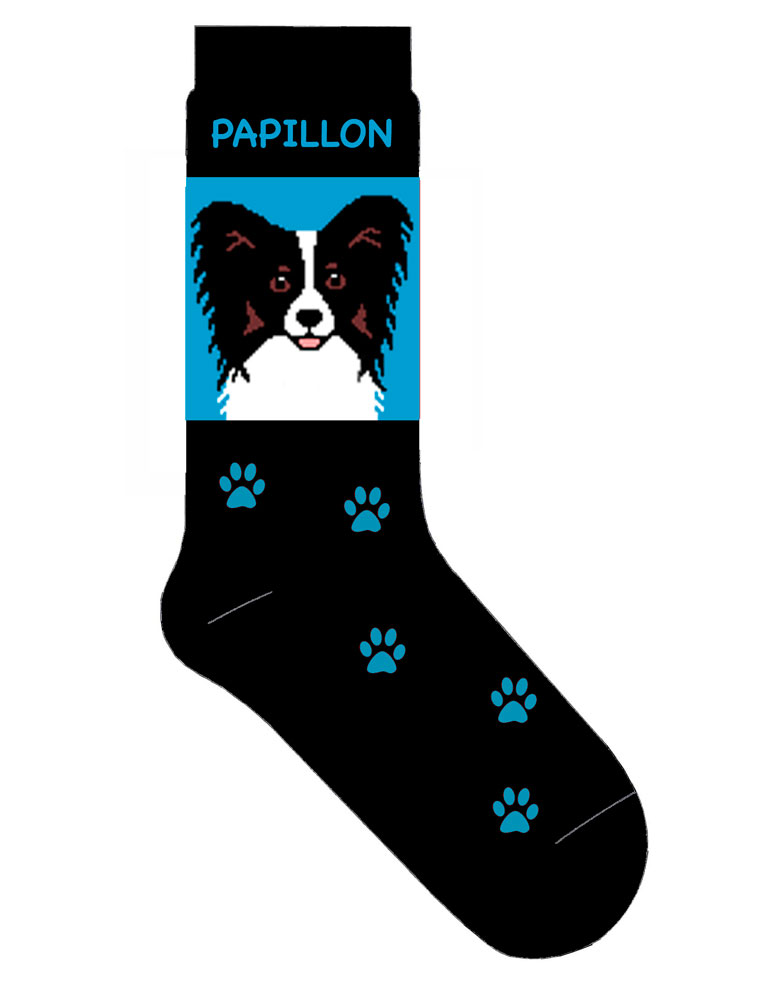 papillon-socks-blue