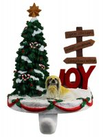 Pekingese Stocking Holder Hanger