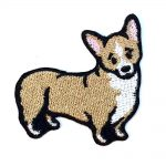 Pembroke Welsh Corgi Iron on Embroidered Patch