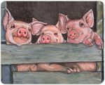 Pig Kitchen Cutting Board