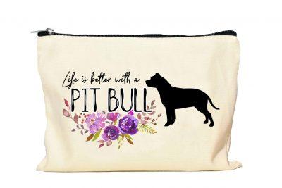 Pit Bull makeup Bag