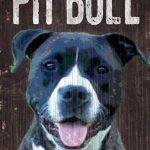 Pitbull Sign – I Love My 5×10 1