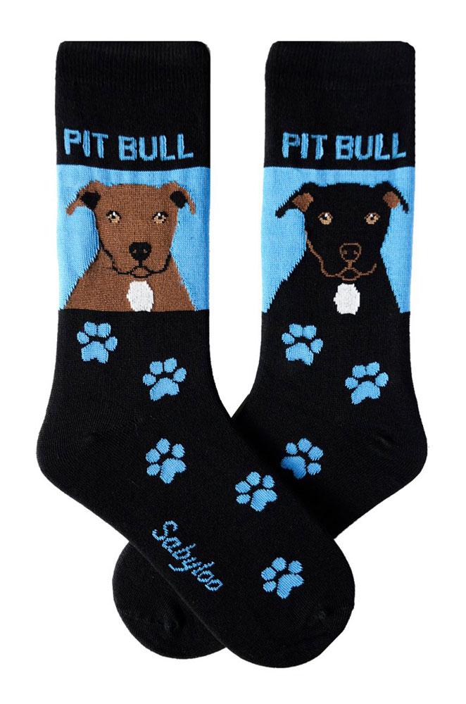 Pitbull Socks Black & Brown