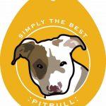 Pitbull Sticker 4×4″ 1