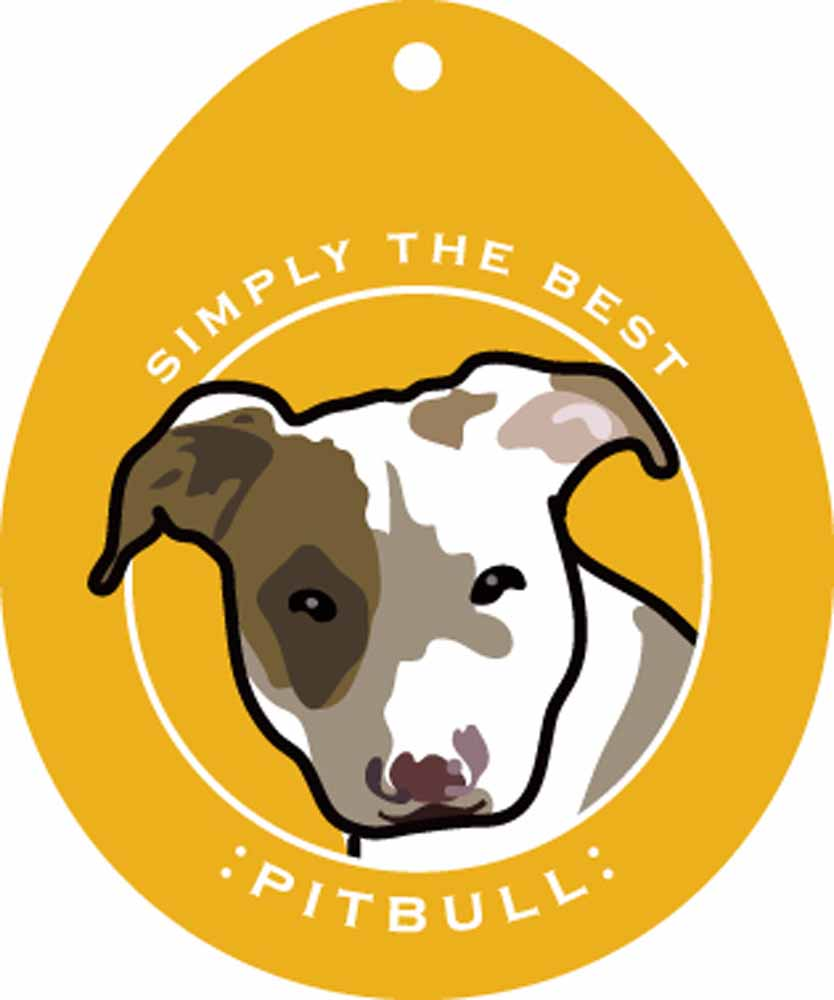 Pitbull Sticker 4x4""