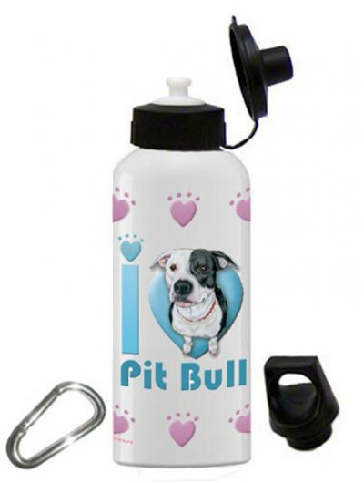 Pitbull Water Bottle Stainless Steel 20 oz 1