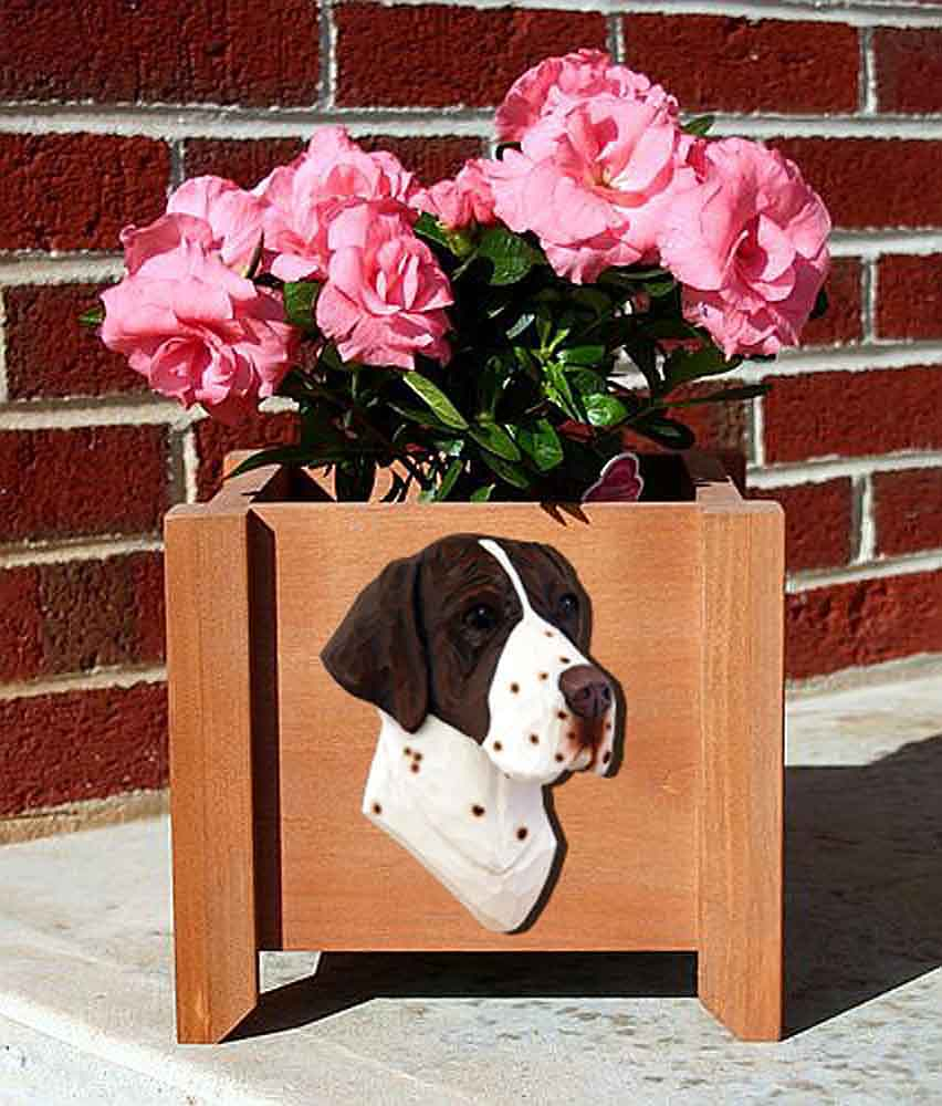 Pointer Planter Flower Pot Liver