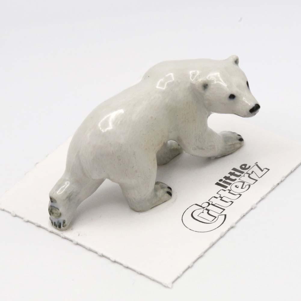 Polar Bear Porcelain Figurine