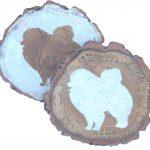 pomeranian-coasters-wood