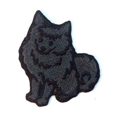 pomeranian-patch-black