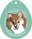 Pomeranian Sticker 4x4""