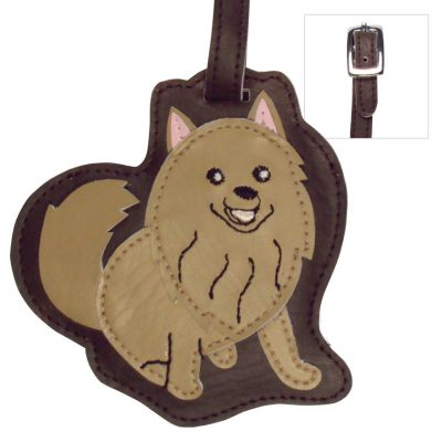 Pomeranian Dog Luggage Tag Briefcase Gym Backpack Travel ID 1