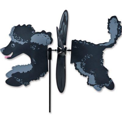 Black Poodle Wind Spinner