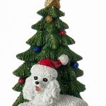 poodle-christmas-tree-ornament-white