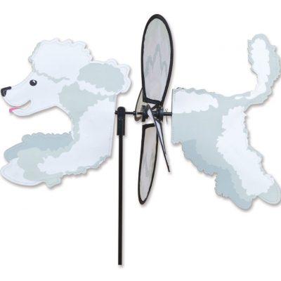 Poodle Garden Wind Spinner