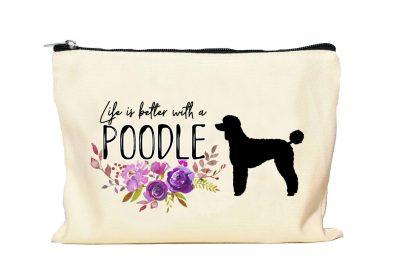 Poodle Makeup bag