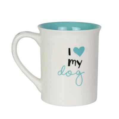 Poodle I Love My Dog Mug