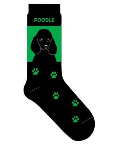 poodle-socks-black-green