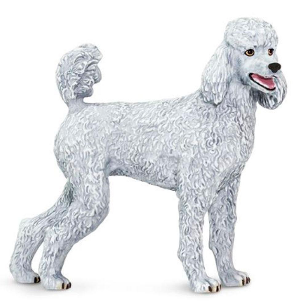 Poodle Toy Figurine