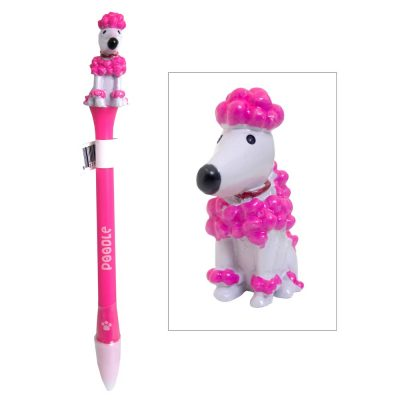 poodle-writing-pen-animated