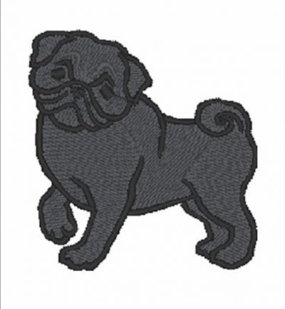 pug-iron-on-patch-black