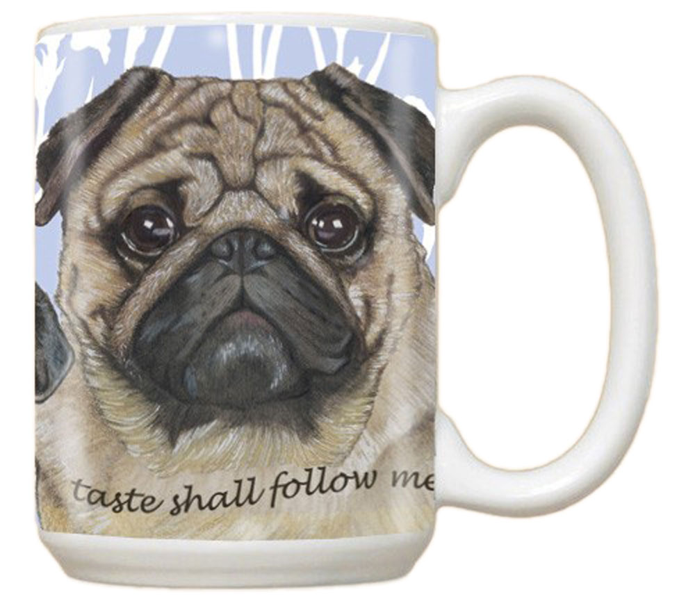 Pug Mug 15 Ounces
