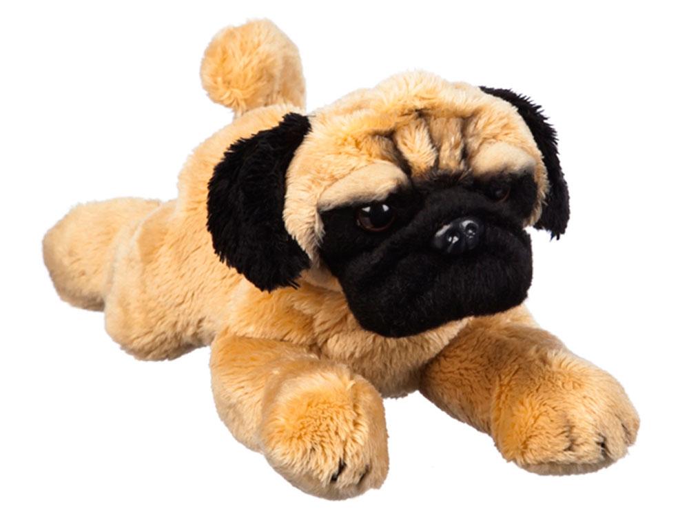 Pug Bean Bag Stuffed Animal Fawn