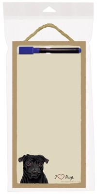 pug_black_dog_wooden_memo_boards