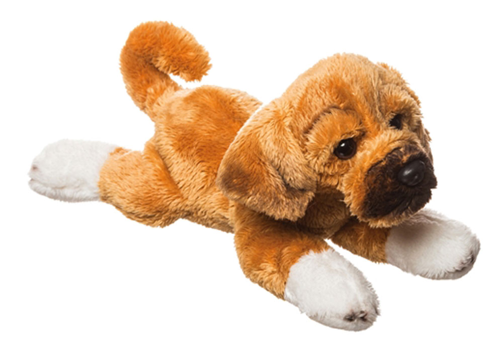 Puggle Stuffed Animal Bean Bag Dog