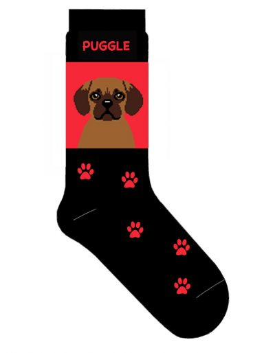 puggle-socks-red
