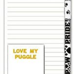 Puggle Dog Notepads To Do List Pad Pencil Gift Set 1