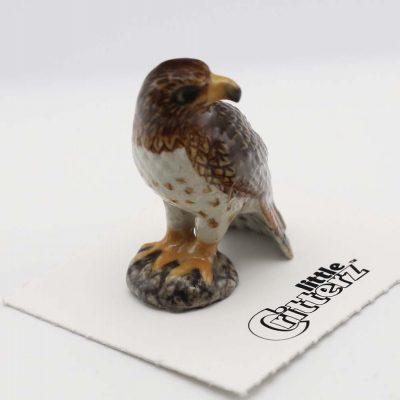 Red Tail Hawk Porcelain Figurine
