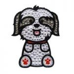 Rhinestone Dog Stickers Decals