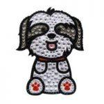 Rhinestone Dog Stickers Decals