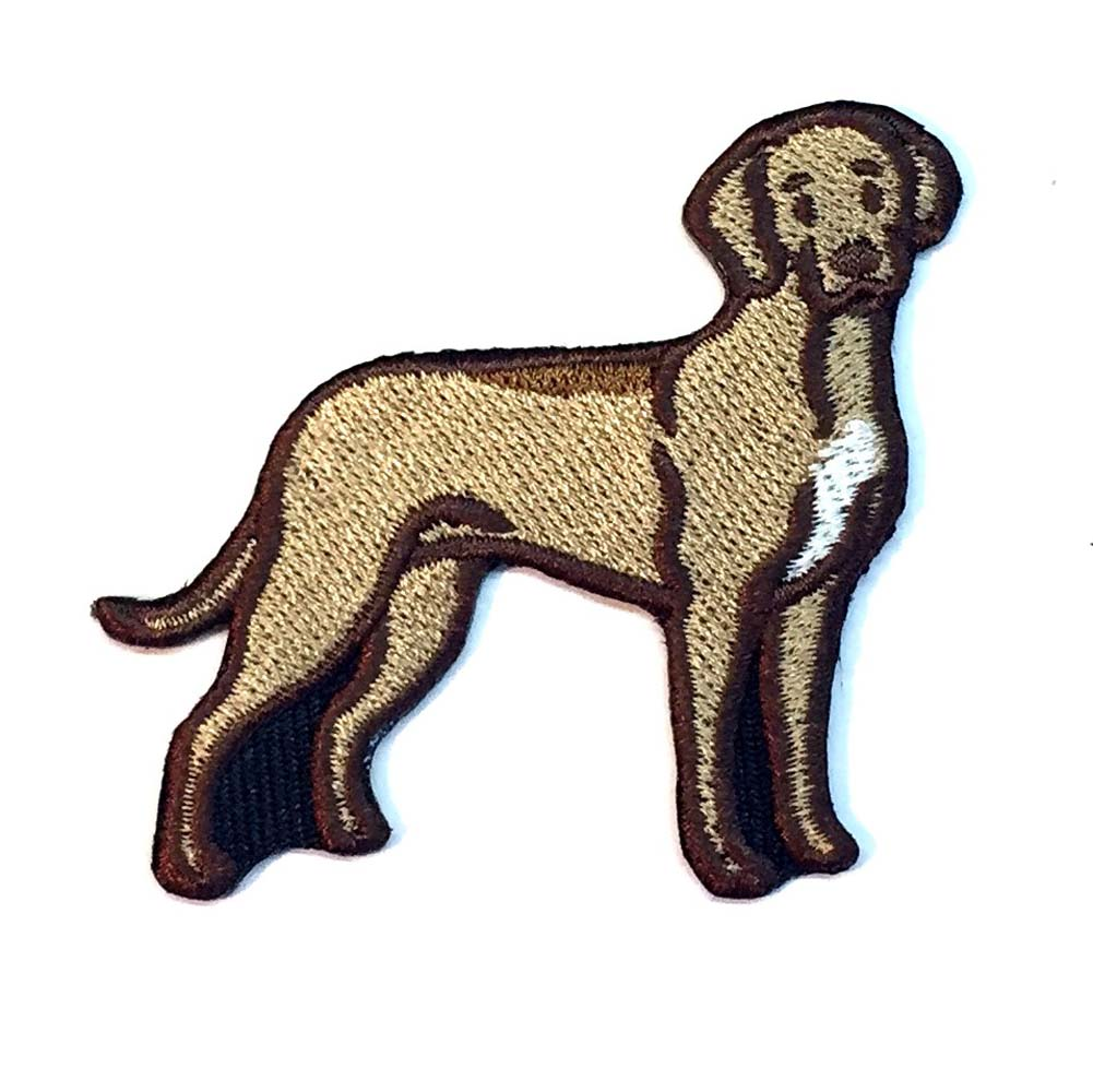 Rhodesian Ridgeback Iron on Embroidered Patch