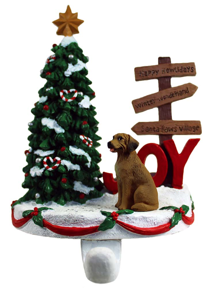 Rhodesian Ridgeback Stocking Holder Hanger