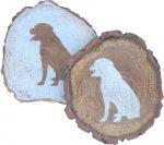 rottweiler-coasters-wood