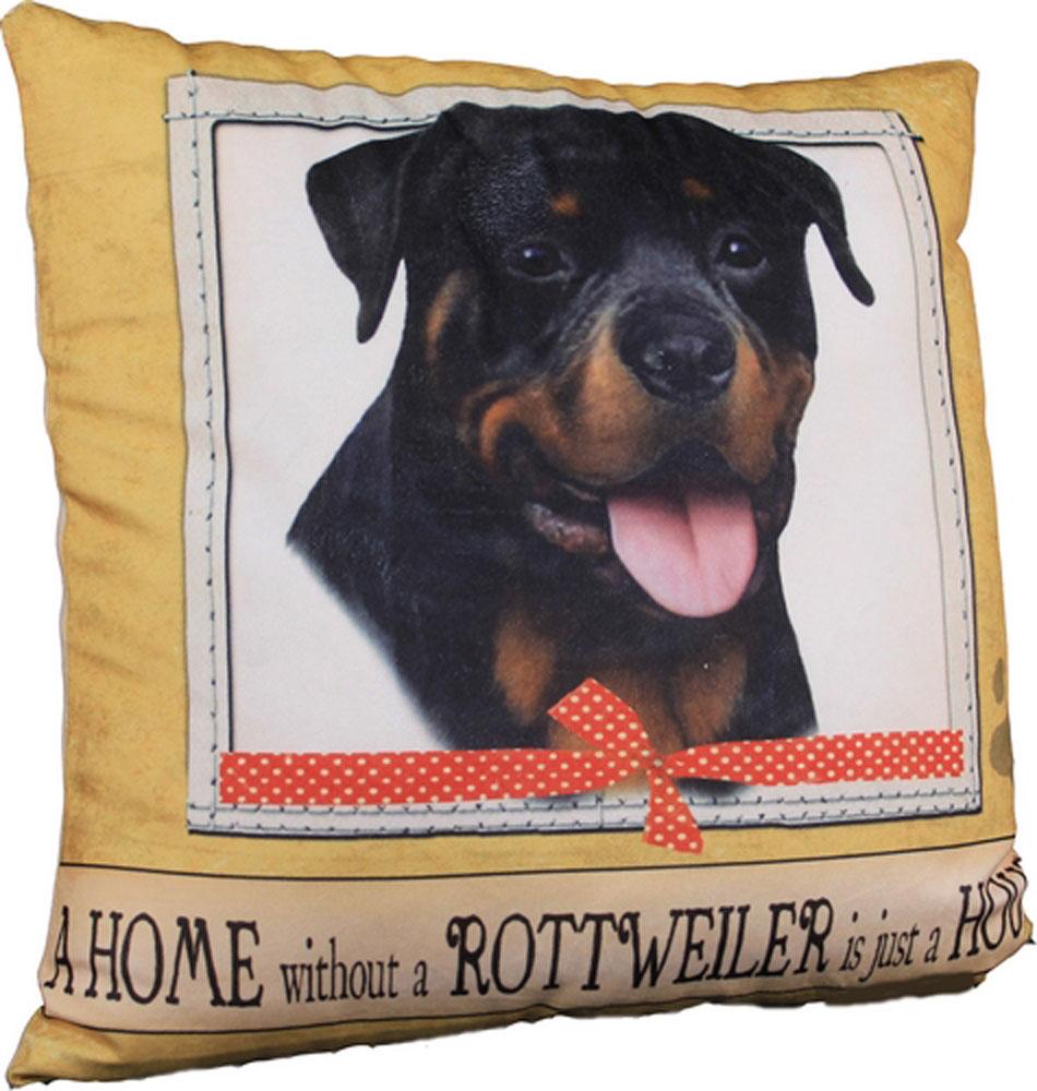 Rottweiler Pillow 16x16 Polyester