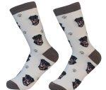 Rottweiler Face Pattern Socks