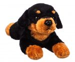 Rottweiler Bean Bag Stuffed Animal
