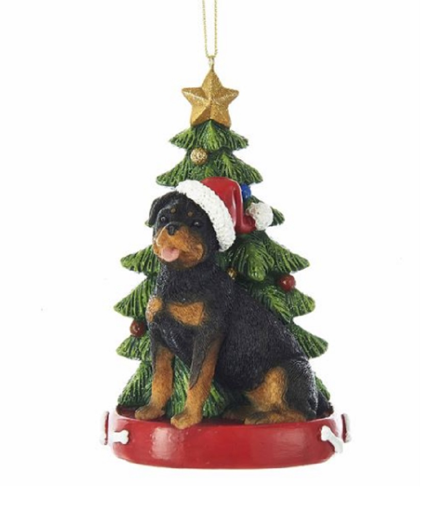 Rottweiler Tree Ornament